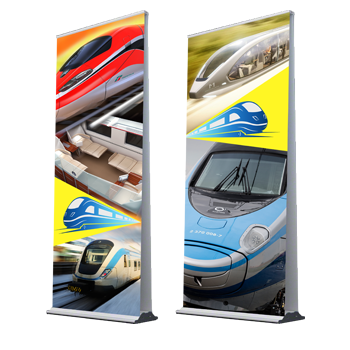 indoor pull up banners both sides