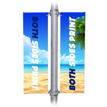 outdoor vinyl street banners both sides