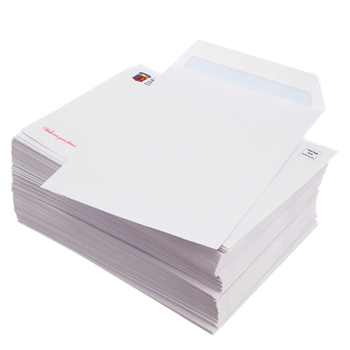 business envelopes c5 and c4 plain face