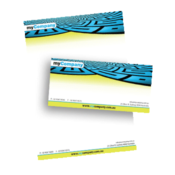 letterheads and with comp slips