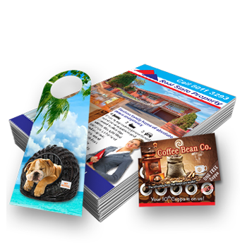 printed card flyers