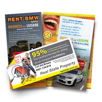 printed flyers